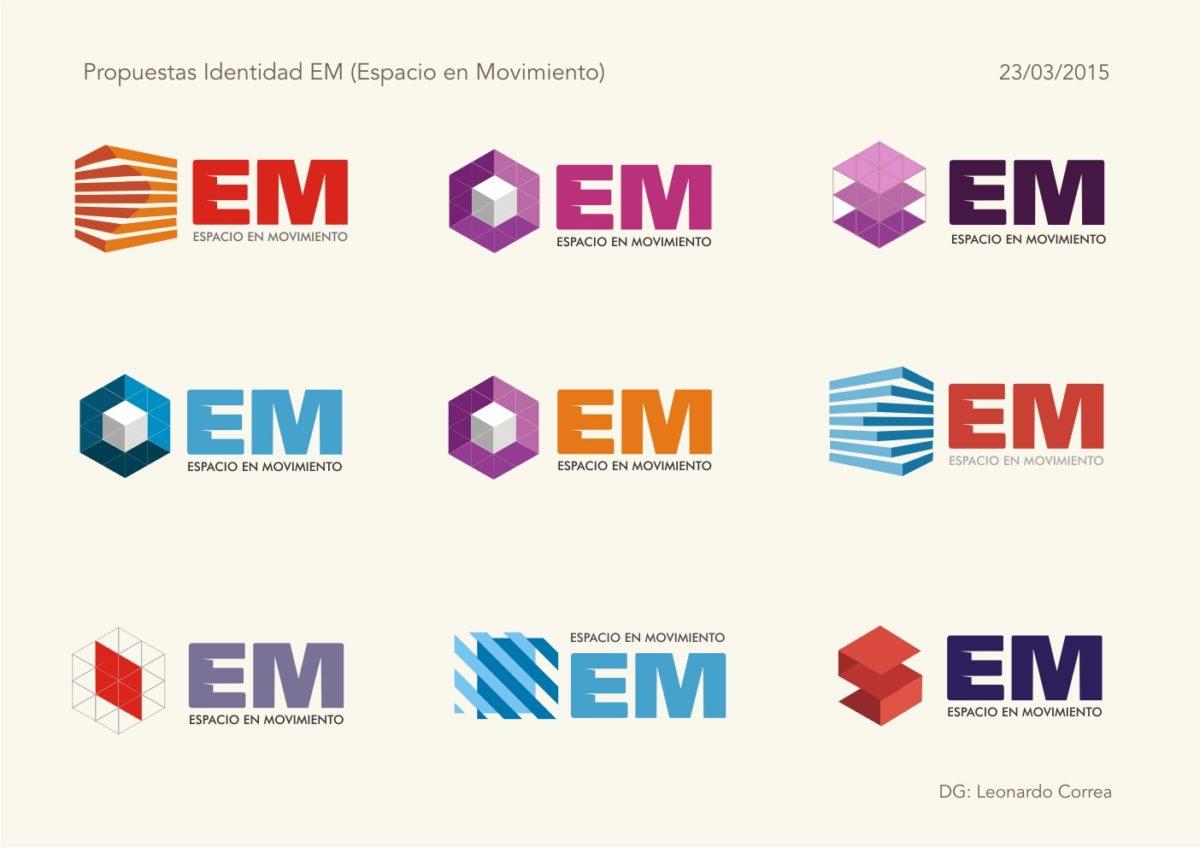 Identidad Comercial para «EM»