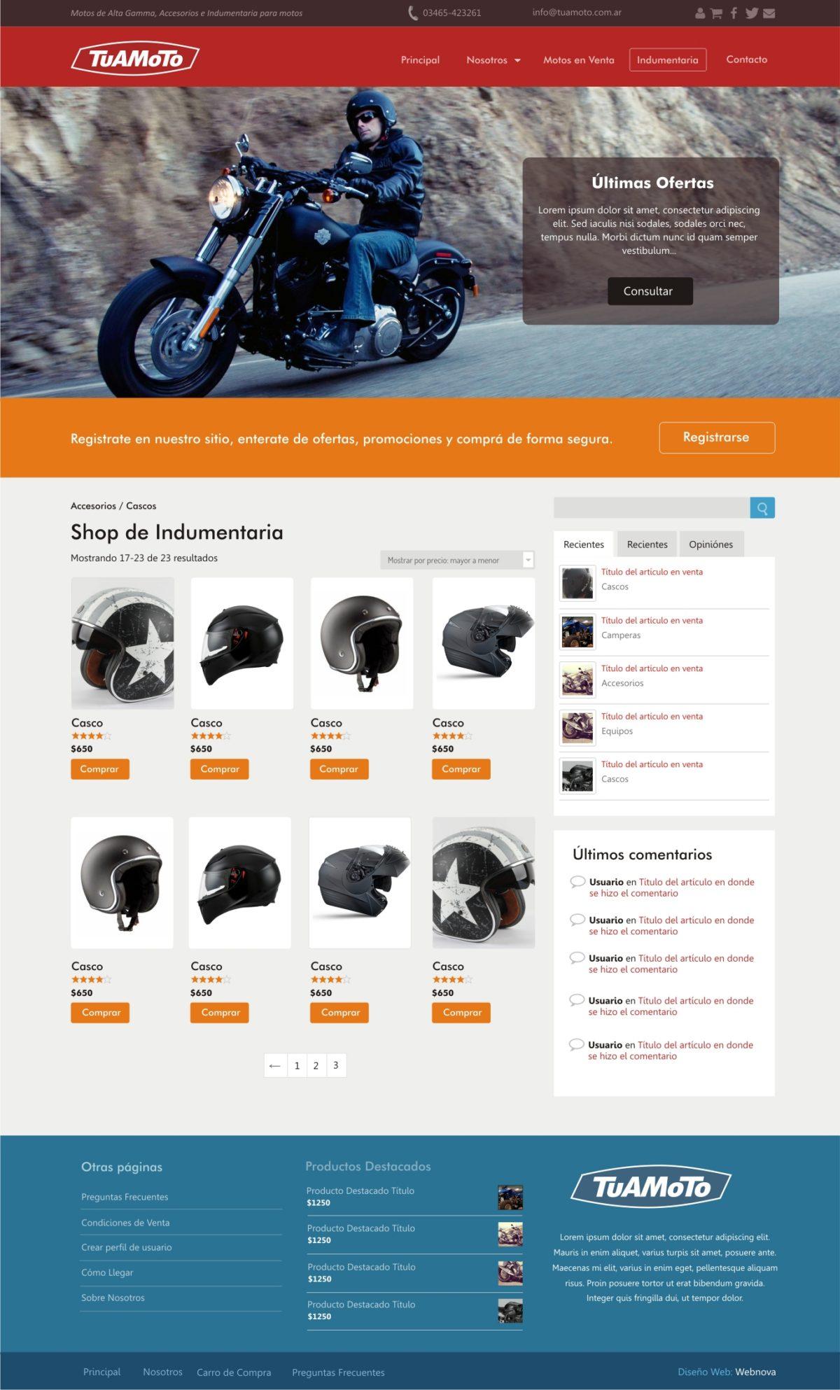 Diseño Web a Medida Tuamoto