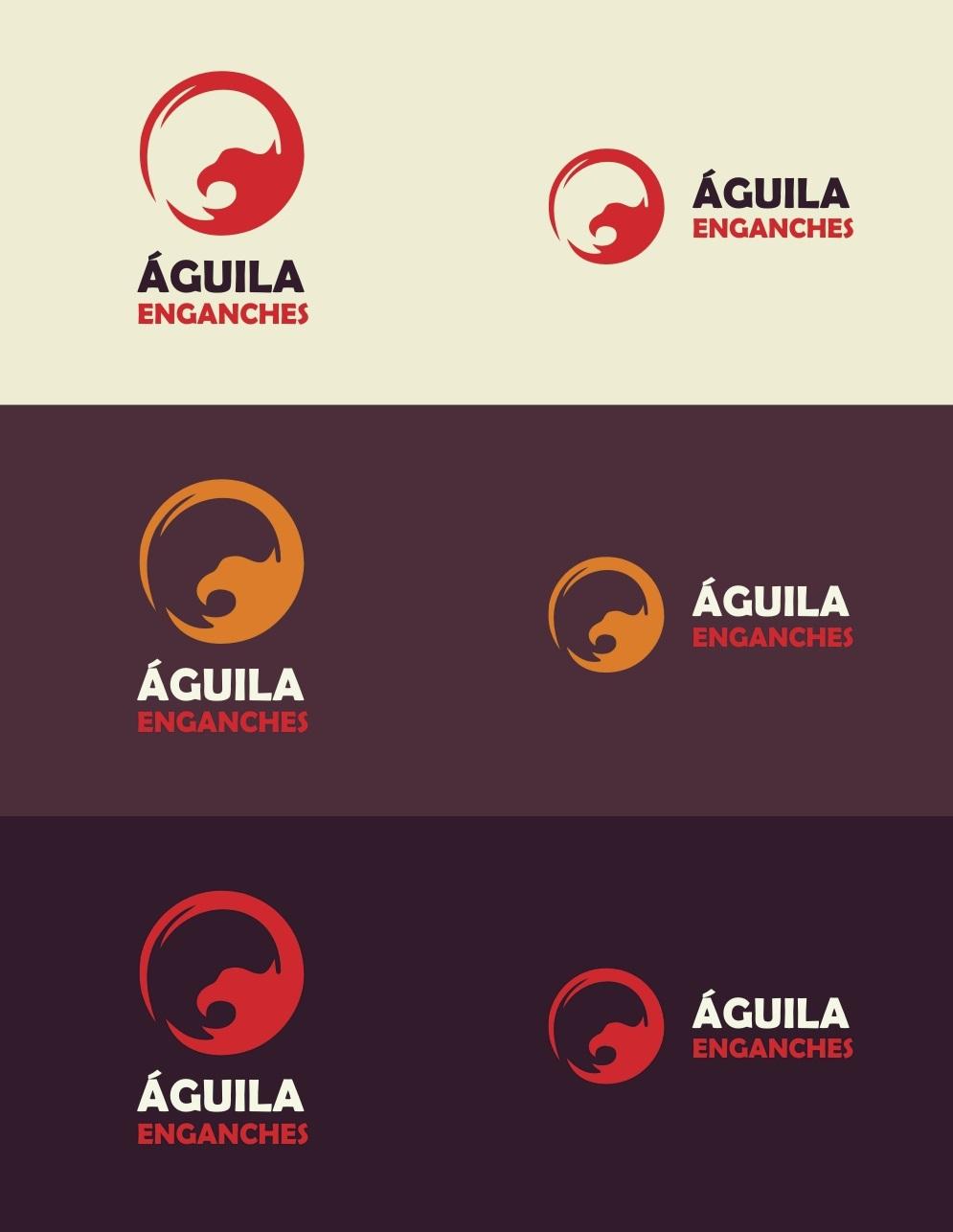 Creacion y Diseño de Marca «ÁGUILA Enganches»