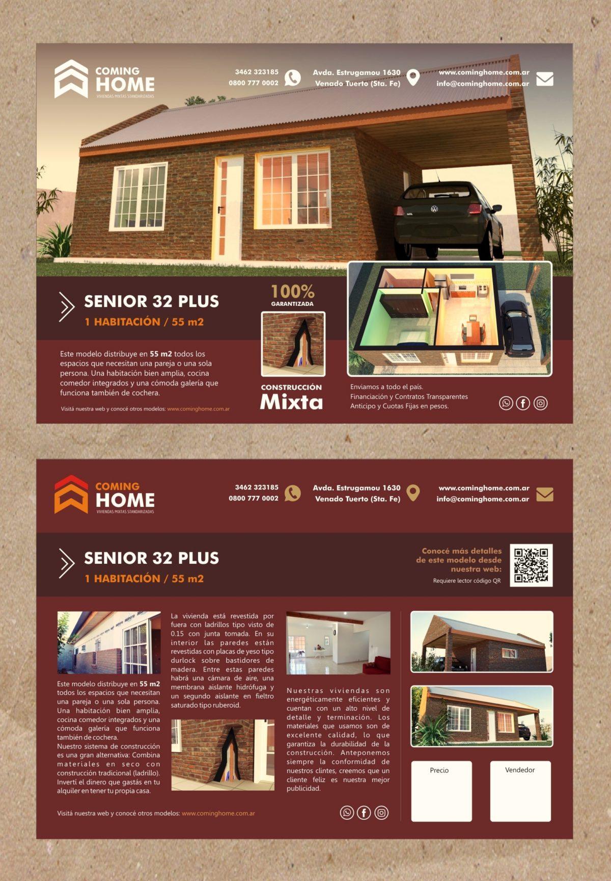 Identidad Comercial «COMING HOME»